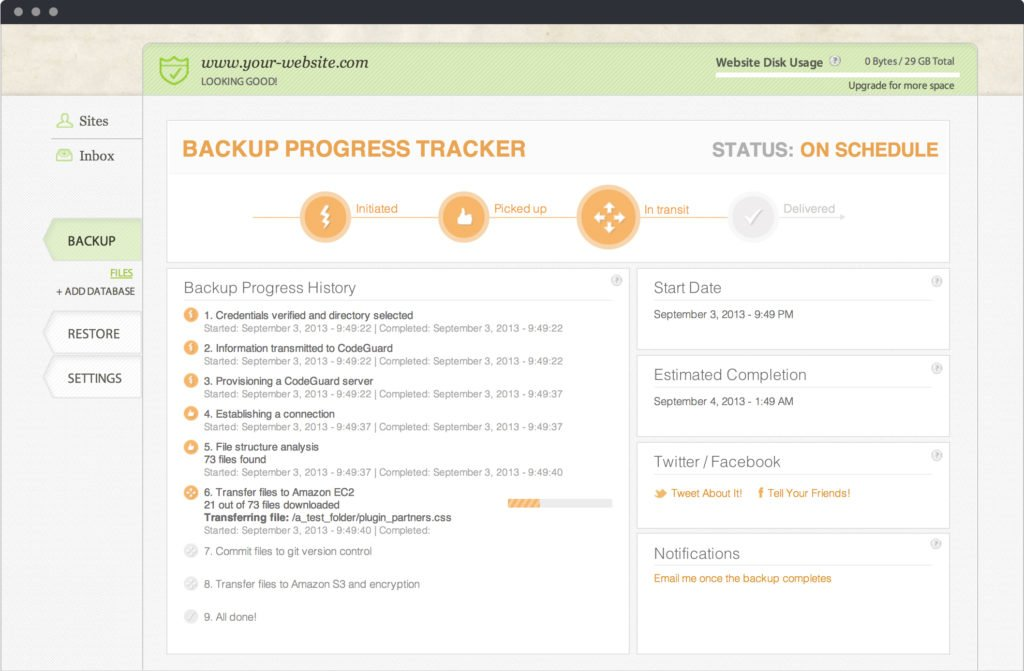 CodeGuard-Backup-Progress-Tracker-with-GrafWebCUSO-credit-union-web-services