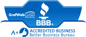 BBB Accredited A+ Rated GrafWebCUSO Web Services